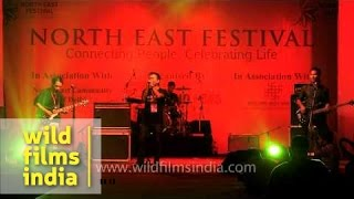 Chethuwang band at Northeast Festival, Delhi