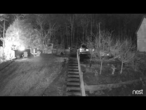 GHOST CAUGHT ON SECURITY CAM?