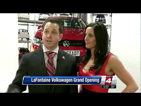 LaFontaine Volkswagen - Grand Opening on WDIV Channel 4 - Dearborn, MI