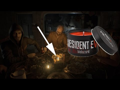 Resident Evil 7 - 4D VR Candle (Blood, Sweat, Leather...)