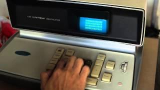 Friden EC-130 World First Solid State Calculator