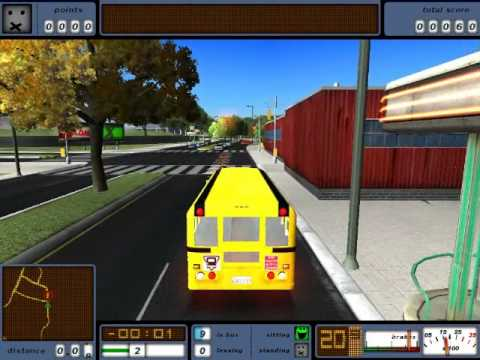 Bus Driver Pc Game Review By Gamedemo Youtube