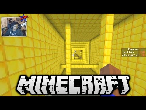 Minecraft 20 LEVEL DROPPER MAP - The Falling 3 Part 1 with Vikkstar & Lachlan
