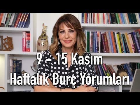 HAYAT ENERJİMİZ ARTIYOR! 9 - 15 Kasım Haftalık Burç Yorumları - Hande Kazanova ile Astroloji