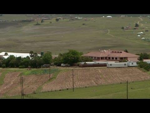 Inside Nelson Mandela's home