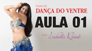 CURSO DE DANÇA DO VENTRE (ON LINE)  AULA 01- REGIÃO PÉLVICA