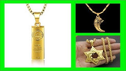 Top 35 Gold Pendant for Men | Latest Gold Jewellery Designs