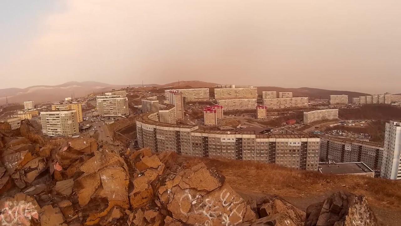 туман г.Владивостока / fog Vladivostok TimeLapse / 霧符拉迪沃斯托 .
