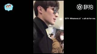 (ENG SUB) 02/21/17 Gao Taiyu 高泰宇 (Picked Up By Fans From Shanghai Airport)