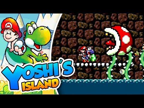 ¡El ataque de la ombligo piraña! - #07 - Yoshi's Island (SNES mini) DSimphony