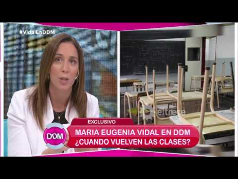 María Eguenia Vidal habló del crecimiento de la escuela privada