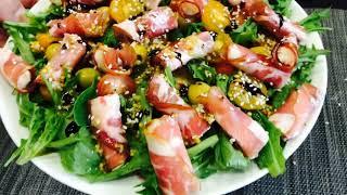 Праздничный салат Сударь#как приготовить праздничный#салат без майонеза#салат#готовим дома