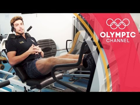 A Workout to Boost Swimming Kick Speed ft. Gabriele Detti | Workout Wednesday