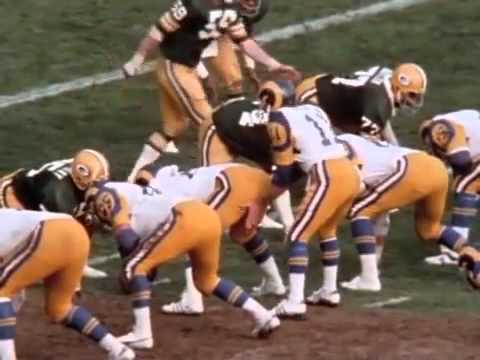 1977- RAMS vs PACKERS (part 9) Game Highlights