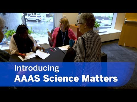Introducing AAAS Science Matters