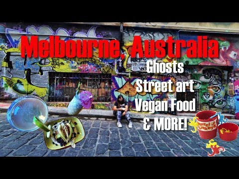 Ghosts, Street Art, Vegan Food, And More Adventures in Melbourne, Australia! (Day 3 Part 2)