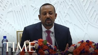 The 2019 Nobel Peace Prize Is Awarded To Ethiopian Prime Minister Abiy Ahmed | TIME