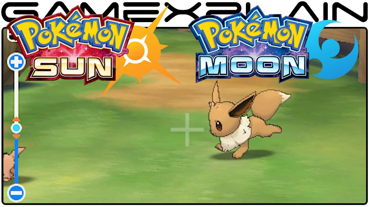 Pokemon Sun Moon New Pokemon Photo Mode Reveal Trailer Jp