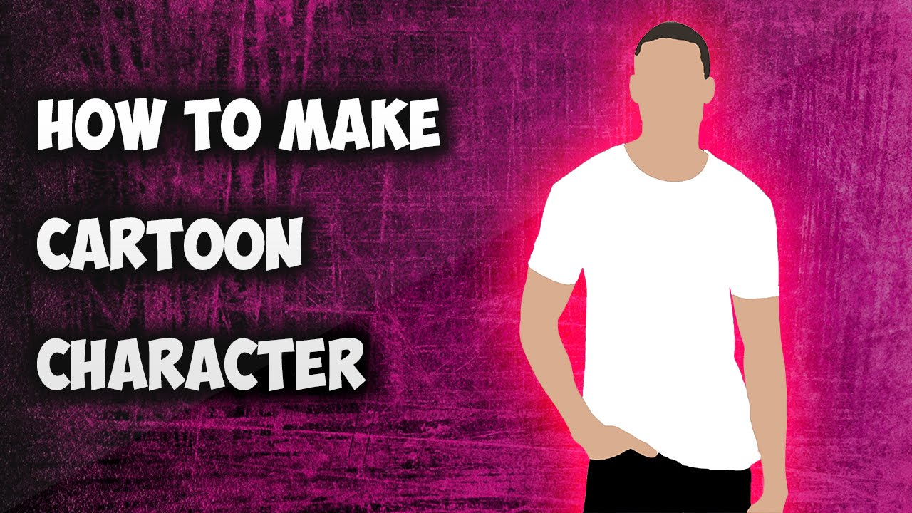 How To Make A Cartoon Character Of Yourself Youtube