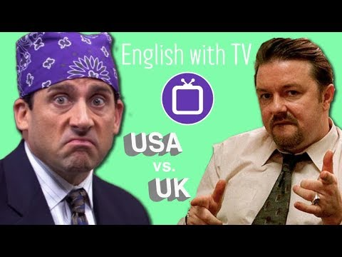 """British vs American English with """"The Office"""" TV Series"""