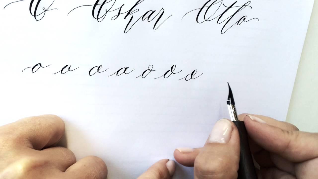 Modern calligraphy bootcamp u craftjam