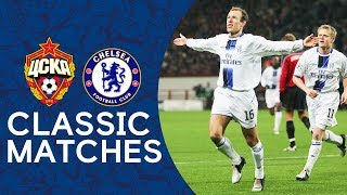 CSKA 0-1 Chelsea | Arjen Robben's First Chelsea Goal | Champions League Classic Highlights