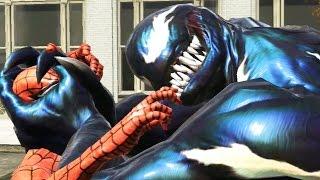 Spider-Man: Web of Shadows - SPIDER-MAN VS VENOM BATTLE
