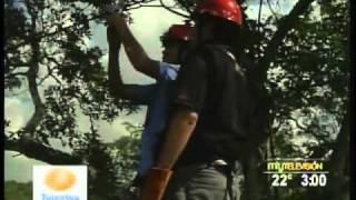 Tirolesa en La Poza Verde en Aldama Tamaulipas