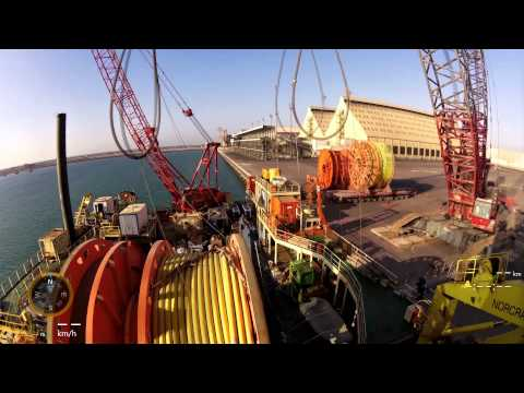Timelapse movie of Mermaid Subsea Services project in the Persian Gulf