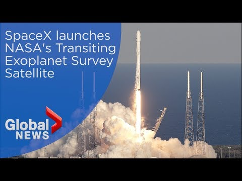 SpaceX launches NASA's planet-hunting satellite TESS into orbit