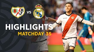 Highlights Rayo Vallecano vs Real Madrid (1-0)