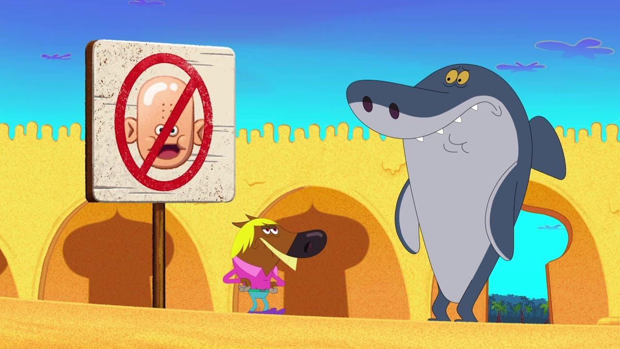 Зиг и Шарко 👨🦲 красивая прическа 👨🦲 русский мультфильм | дети видео | мультфильмы |