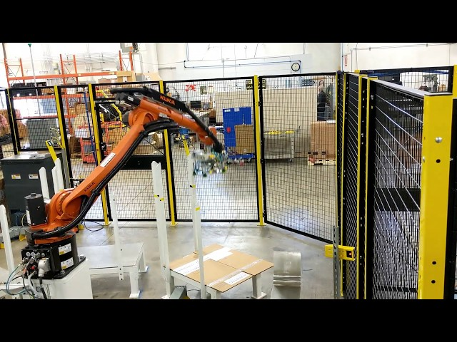 Robotic Case Erector & Bottom Case Seal | Autotec Solutions