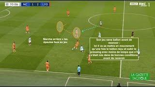 L'analyse de Tanguy Ndombélé face à Manchester City