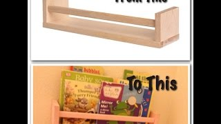 Diy Project // Book Shelves!
