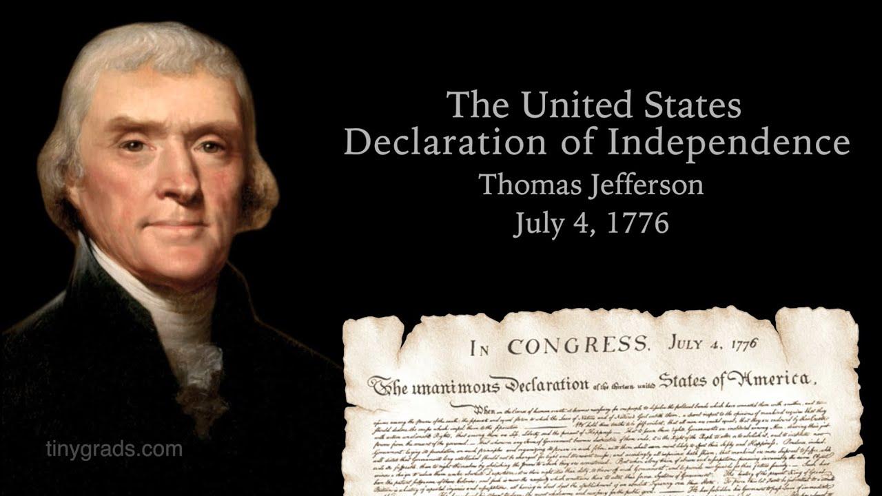 Image result for jefferson declaration independence
