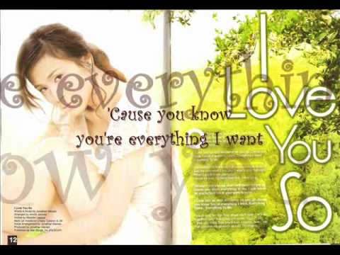 I Love You So with lyrics - Toni Gonzaga