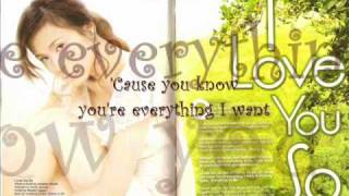 I Love You So with lyrics - Toni Gonzaga
