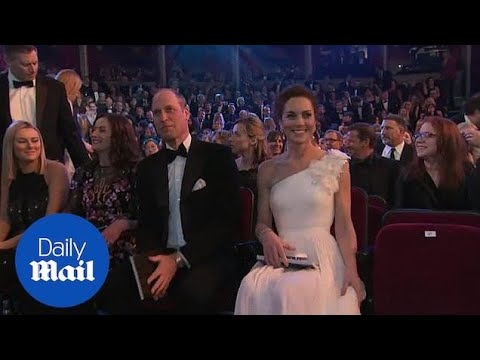 William And Kate Receive A Standing Ovation At 2019 BAFTAs