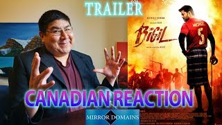 Bigil Tamil Movie Trailer Reaction by Mirror Domains 2019