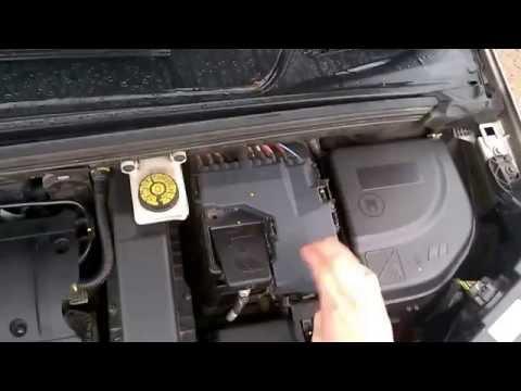 Исправление ошибки заряда АКБ за 1 мин Citroen C4