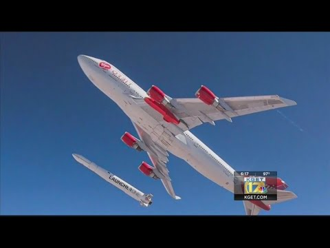 Virgin Orbit's Cosmic Girl launches from Mojave, fails on first rocket launch attempt