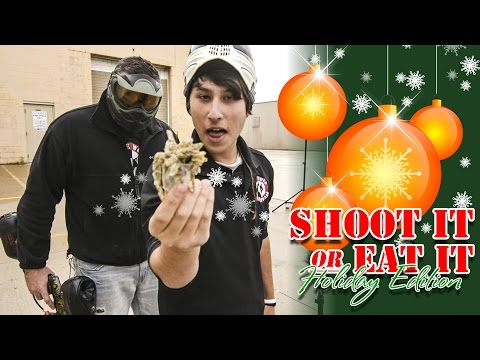 Holiday Shoot It or Eat It Grandma's Home Cooking Lone Wolf Paintball Michigan