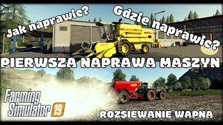 PIERWSZA NAPRAWA MASZYN [#2]  - Farming Simulator 19 | SToP Team | Wieśniaki | Ekipa Jockerfarm