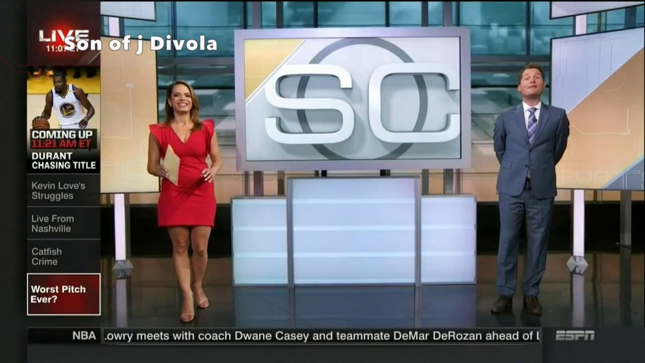 Elle Duncan Hot Stems and Toni Collins Backside Profile | ESPN