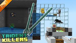 Trident Killer Tutorial | Minecraft Bedrock Edition (MCBE / MCPE)