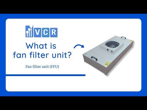 What is FFU fan filter unit?
