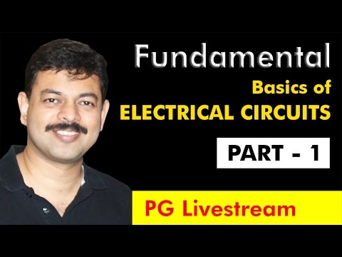 Class 12 Physics | Class - 1 on Basics of ELECTRICAL CIRCUITS for JEE, NEET & CBSE