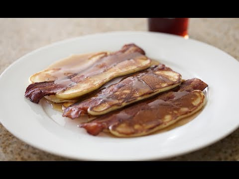 Bacon Pancakes | Byron Talbott - YouTube