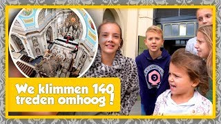 WE KLIMMEN 140 TREDEN OMHOOG IN DE BASILIEK VAN OUDENBOSCH - De Nagelkerkjes #350